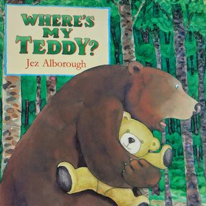 Where's My Teddy Front Cover