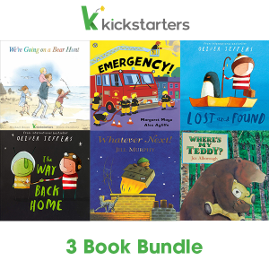 Kickstarters 3 Book Bundle Cover